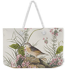 Yellow-winged Sparrow Weekender Tote Bag by John James Audubon