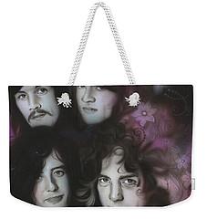 Led Zeppelin - ' Zeppelin ' Weekender Tote Bag by Christian Chapman Art