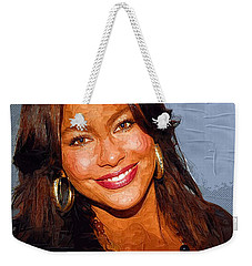 Sofia Vergara Art Print Weekender Tote Bag by Best Actors