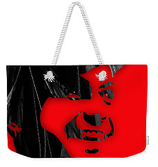 Frank Sinatra Collection Weekender Tote Bag by Marvin Blaine
