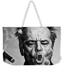 Jack Nicholson Collection Weekender Tote Bag by Marvin Blaine
