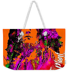 Robert Plant Collection Weekender Tote Bag by Marvin Blaine