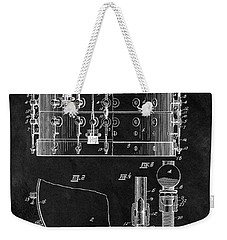 1900 Orchestra Drum Patent Weekender Tote Bag by Dan Sproul