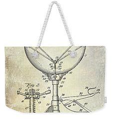 1941 Ludwig Drum Patent  Weekender Tote Bag by Jon Neidert