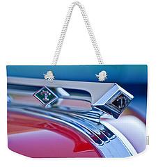 1949 Diamond T Truck Hood Ornament 3 Weekender Tote Bag by Jill Reger
