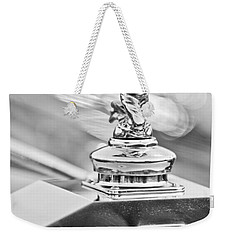 1952 Rolls-royce Silver Wraith Hood Ornament 2 Weekender Tote Bag by Jill Reger