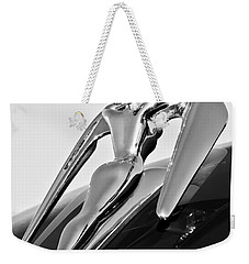 1960 Nash Metropolitan -0854bw Weekender Tote Bag by Jill Reger