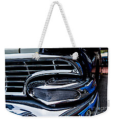 Weekender Tote Bag featuring the photograph 1958 Ford Crown Victoria by M G Whittingham