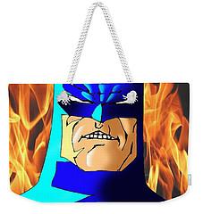 Old Batman Weekender Tote Bag by Salman Ravish