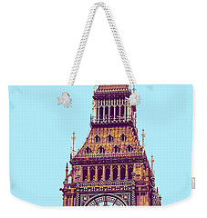 Big Ben Tower, London  Weekender Tote Bag by Asar Studios