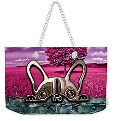 Dog And Landscapes Collection Weekender Tote Bag by Marvin Blaine