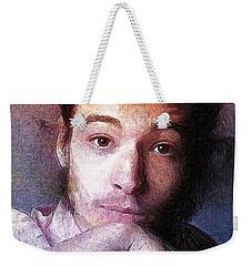 Ezra Miller Weekender Tote Bag by Best Actors