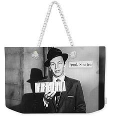 Frank Sinatra Weekender Tote Bag by Underwood Archives