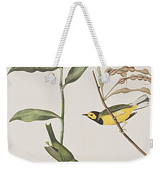 Hooded Warbler  Weekender Tote Bag by John James Audubon