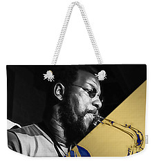 Ornette Coleman Collection Weekender Tote Bag by Marvin Blaine