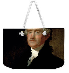 President Thomas Jefferson  Weekender Tote Bag by War Is Hell Store
