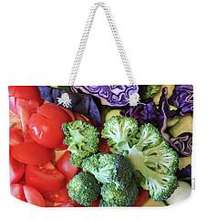 Raw Ingredients Weekender Tote Bag by Tom Gowanlock