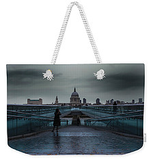 St Paul's Cathedral Weekender Tote Bag by Martin Newman