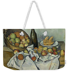The Basket Of Apples, Weekender Tote Bag by Paul Cezanne