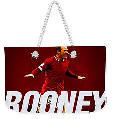 Wayne Rooney Weekender Tote Bag by Semih Yurdabak