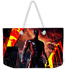 Daredevil Collection Weekender Tote Bag by Marvin Blaine