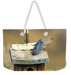 Spread Your Wings Weekender Tote Bag by Mike Dawson