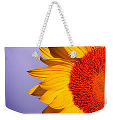 Sunflowers Weekender Tote Bag by Mark Ashkenazi