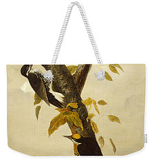 Woodpeckers Weekender Tote Bag by John James Audubon