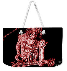 Neil Young Collection Weekender Tote Bag by Marvin Blaine