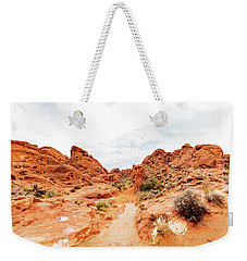 Valley Of Fire State Park Panorama Weekender Tote Bag by Daniel Shumny