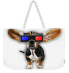3d Dog Collection Weekender Tote Bag by Marvin Blaine