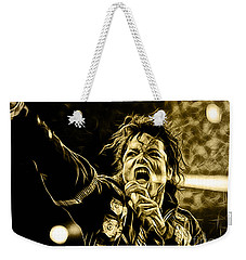Michael Jackson Collection Weekender Tote Bag by Marvin Blaine