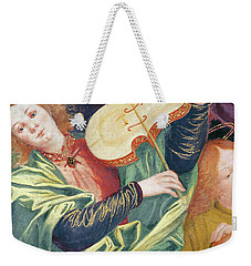 The Concert Of Angels Weekender Tote Bag by Gaudenzio Ferrari