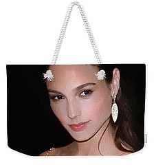 Gal Gadot Weekender Tote Bag by Best Actors