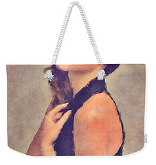 Gal Gadot Art Weekender Tote Bag by Best Actors