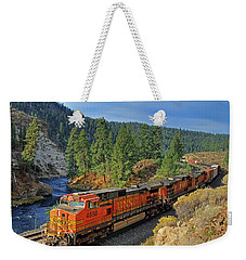 4688 Weekender Tote Bag by Donna Kennedy