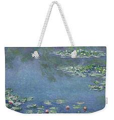 Water Lilies Weekender Tote Bag by Claude Monet