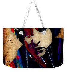 Bob Dylan Collection Weekender Tote Bag by Marvin Blaine