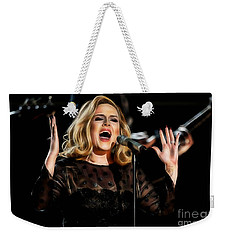 Adele Collection Weekender Tote Bag by Marvin Blaine