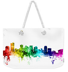 Phoenix Arizona Skyline Weekender Tote Bag by Michael Tompsett