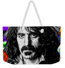 Frank Zappa Collection Weekender Tote Bag by Marvin Blaine