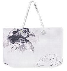 Pheasants Weekender Tote Bag by Archibald Thorburn