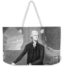 Thomas Jefferson Weekender Tote Bag by War Is Hell Store