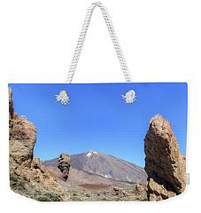 Tenerife - Mount Teide Weekender Tote Bag by Joana Kruse