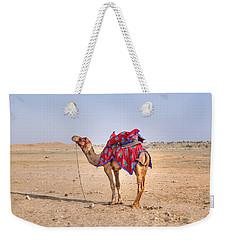 Thar Desert - India Weekender Tote Bag by Joana Kruse
