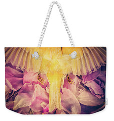 A Beautiful Goodbye Weekender Tote Bag by Amy Weiss