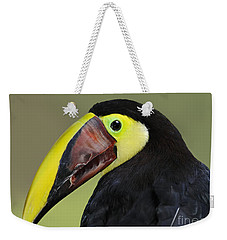 A Bird For His Bill.. Weekender Tote Bag by Nina Stavlund