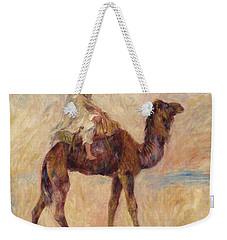 A Camel Weekender Tote Bag by Pierre Auguste Renoir
