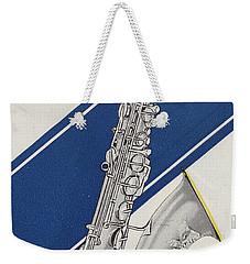 A Charles Gerard Conn Bb Tenor Weekender Tote Bag by American School