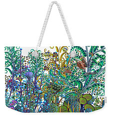 A Curious World Weekender Tote Bag by Betsy Knapp